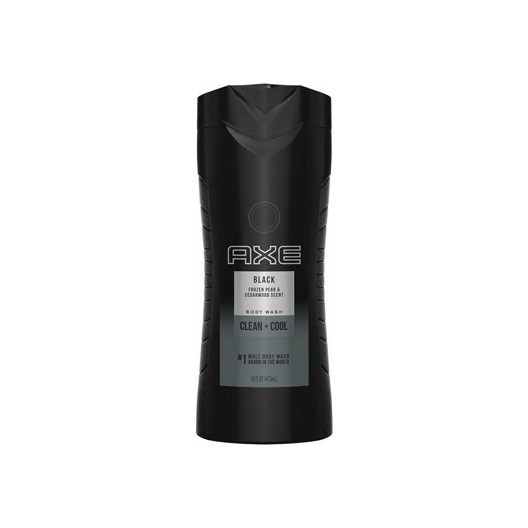 Axe Body Wash, Black 16 oz
