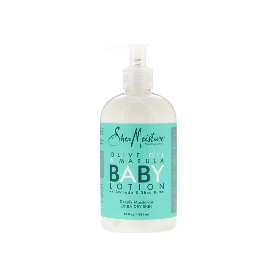 Shea Moisture Baby Head-To-Toe Lotion, Olive & Marula 13 oz