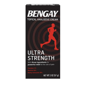 BENGAY Pain Relieving Cream, Ultra Strength 2 oz