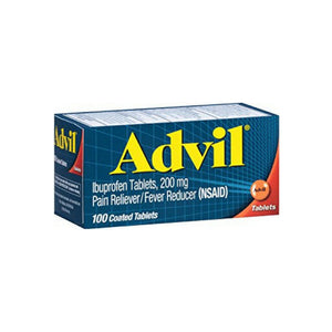 Advil Tablets 100 Tablets