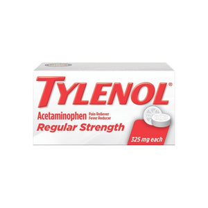TYLENOL Regular Strength Tablets 100 Tablets - Pharmapacks
