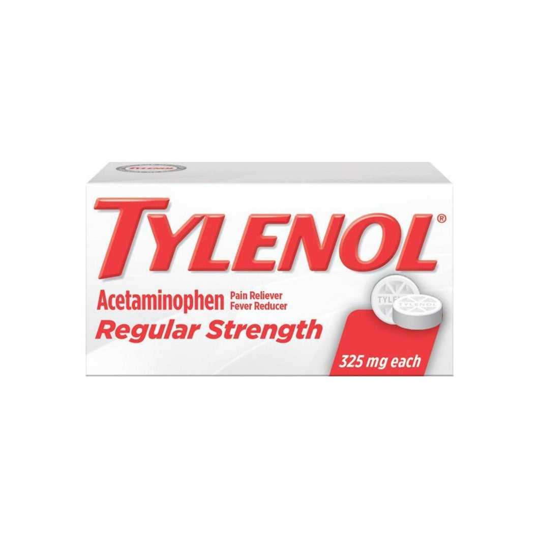 TYLENOL Regular Strength Tablets 100 Tablets