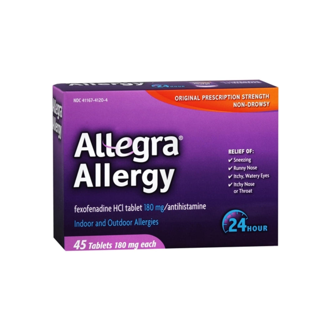 Allegra 24 Hour Tablets 45 ea