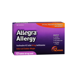Allegra Allergy Tablets 12 Hour 12 ea