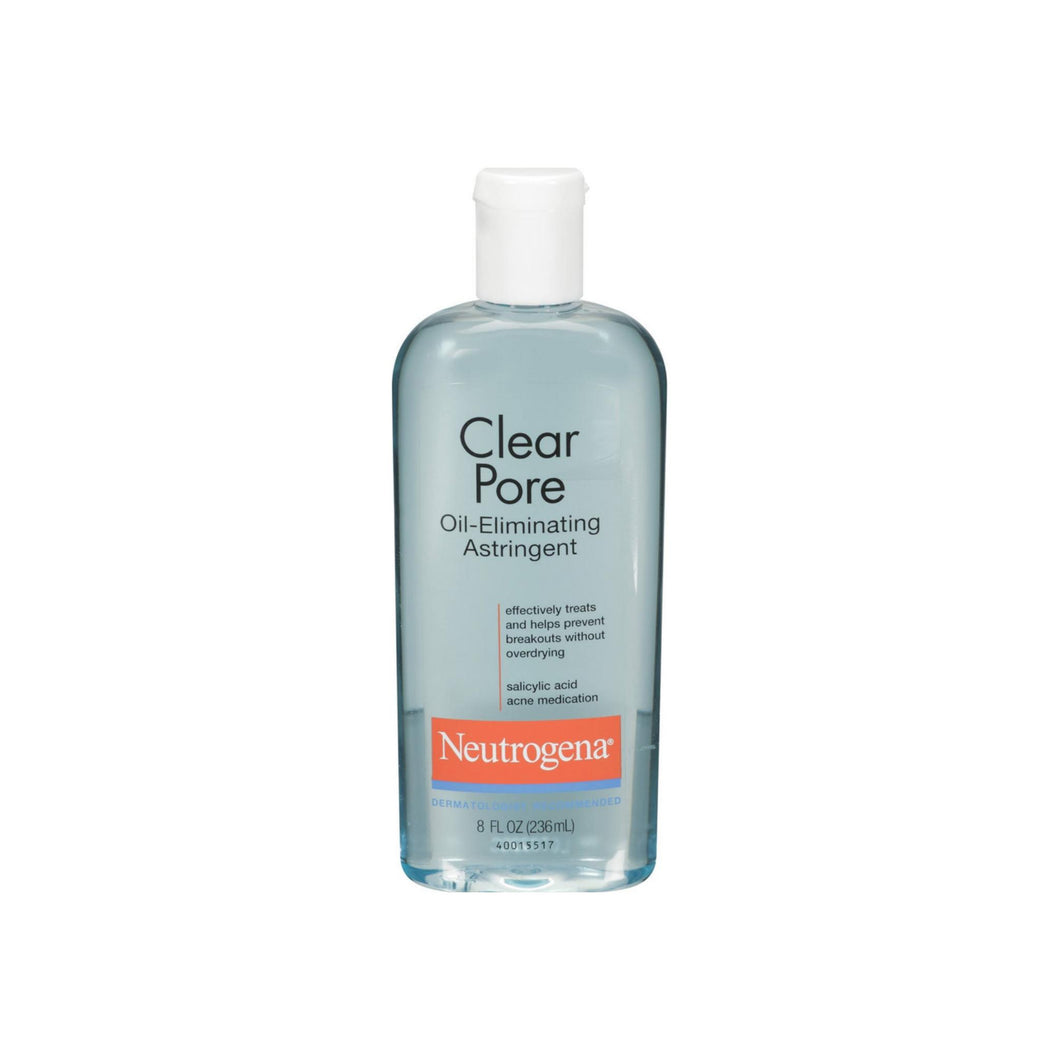 Neutrogena Clear Pore Oil-Eliminating Astringent 8 oz