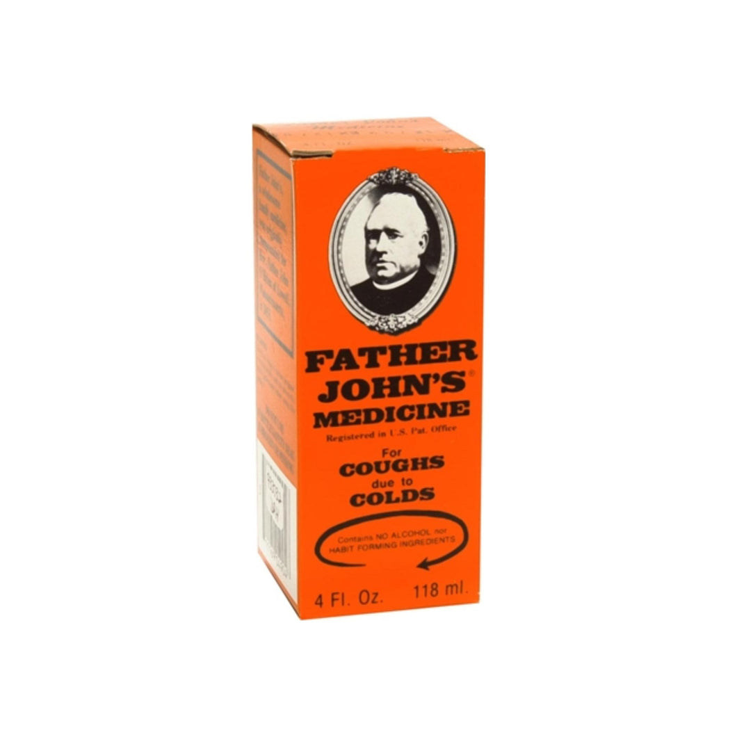 Father John's Medicine Cough Suppressant 4 oz