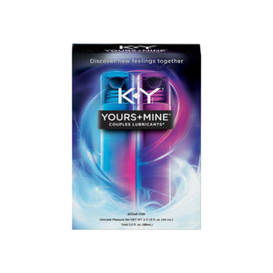 K-Y Yours & Mine Couples Lubricant, 3 oz