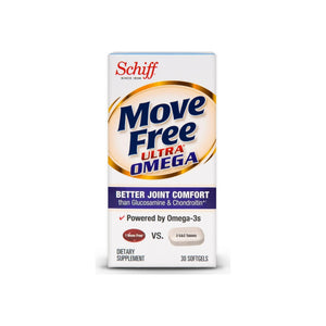 Move FreeUltra Omega Joint Health Supplement with Omega-3 Krill Oil and Hyaluronic Acid 30 ea