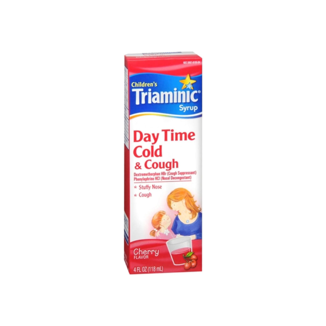 Triaminic Children's Day Time Cold & Cough Syrup Cherry 4 oz