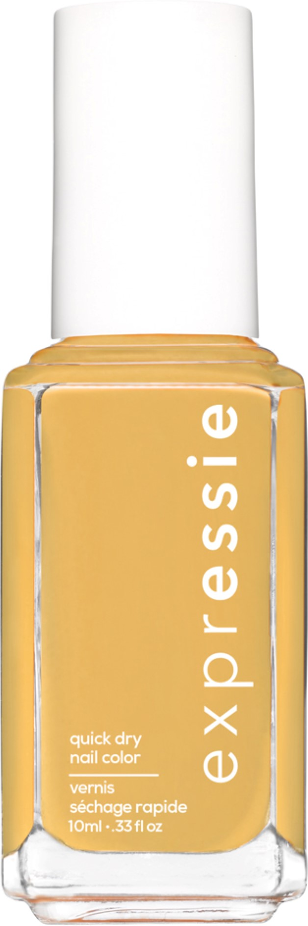 expressie quick-dry nail polish, yellow nail polish, don't hate, curate, 0.33 oz