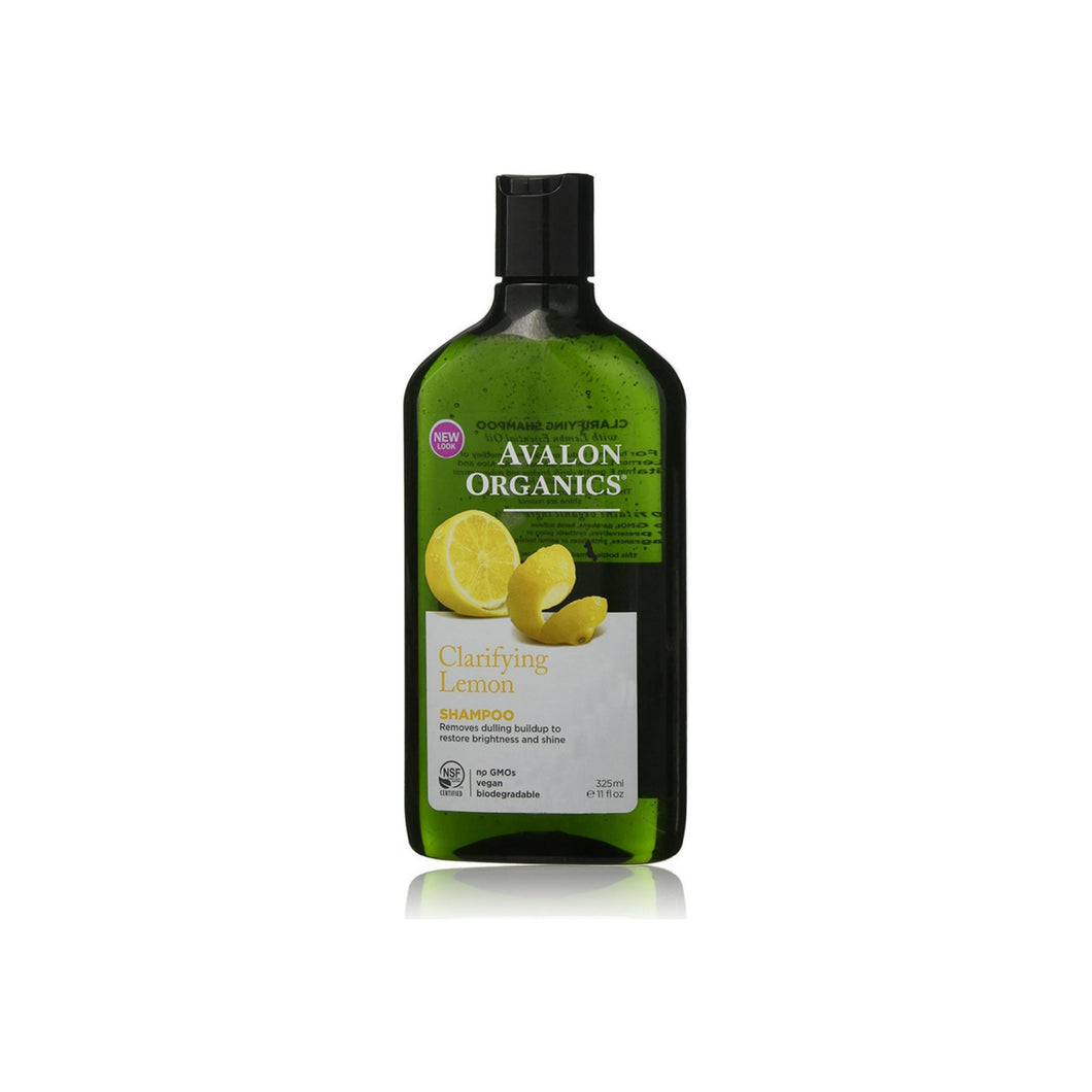 Avalon Organics Clarifying Shampoo, Lemon 11 oz