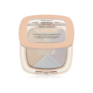 L'Oreal Paris True Match Lumi Powder Glow Illuminator, Ice [C302] 0.31 oz