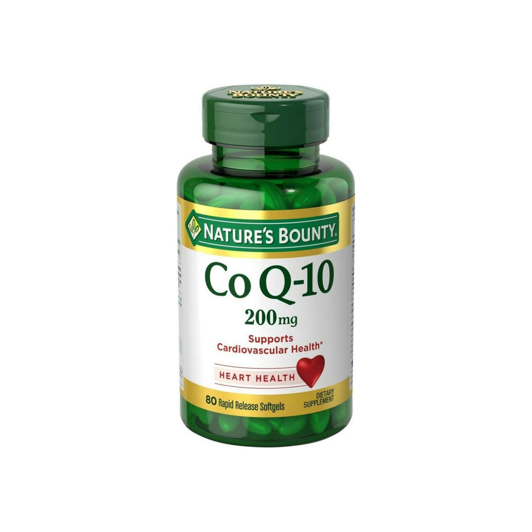 Nature's Bounty Co Q-10 Extra Strength 200 mg Softgels 80 ea