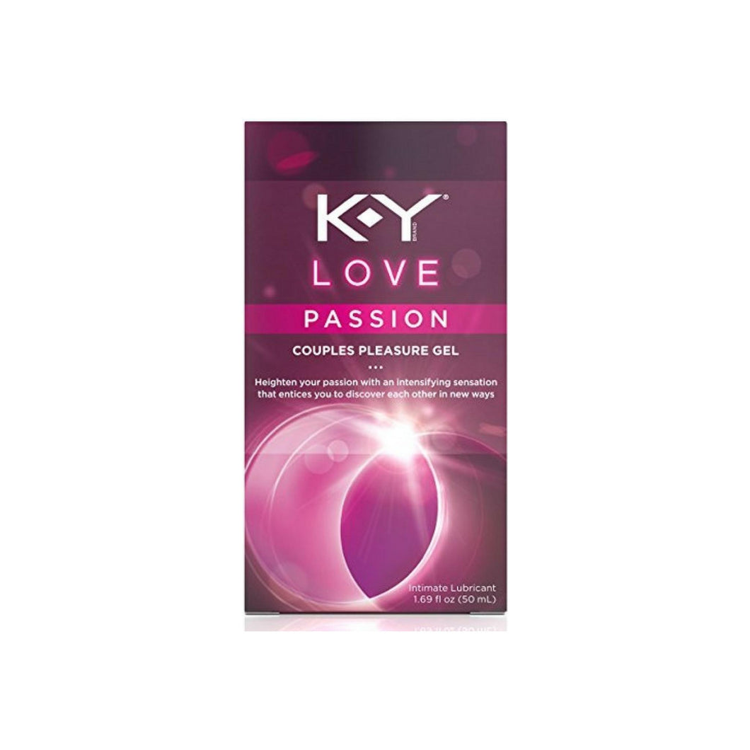 K-Y Love Couples Lubricant, Passion 1.69 oz