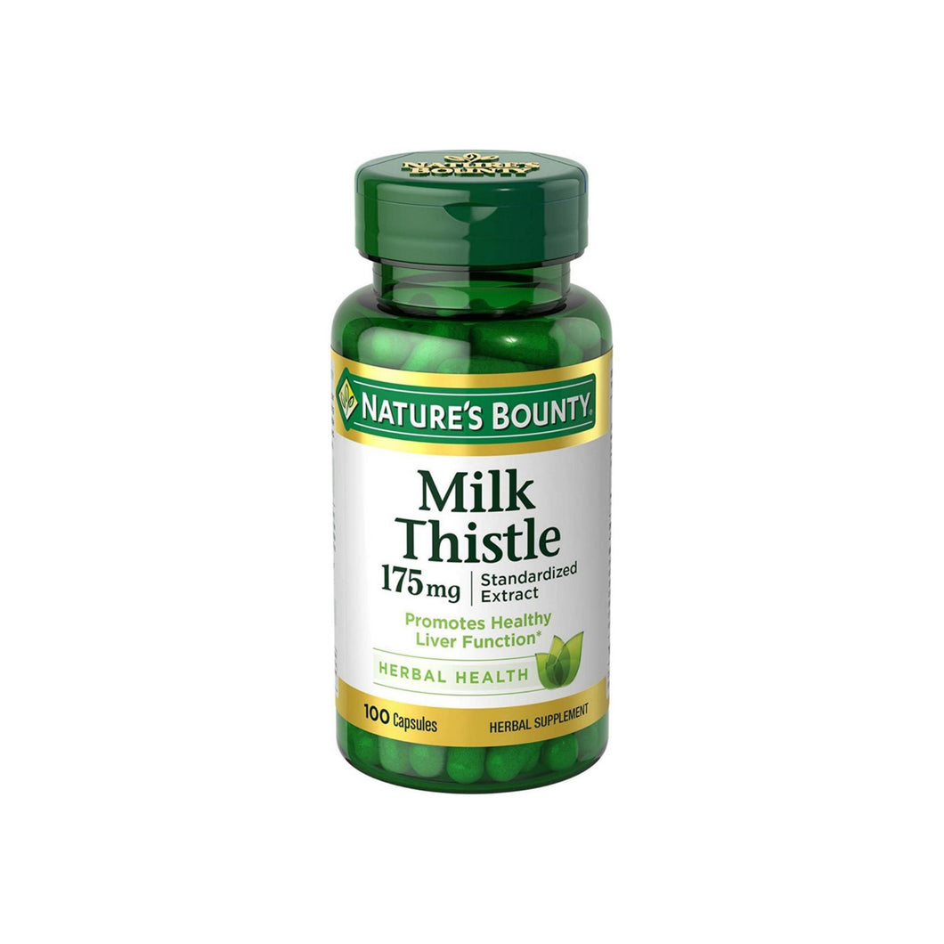Nature's Bounty Milk Thistle 175 mg Capsules 100 ea