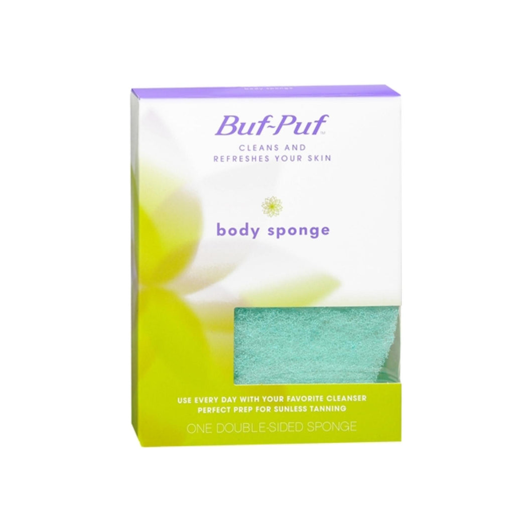 Buf-Puf Double-Sided Body Sponge 1 Each