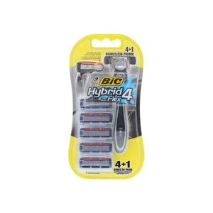 Bic Hybrid 4 Advance For Men, Disposable 4-Blade System 1 ea
