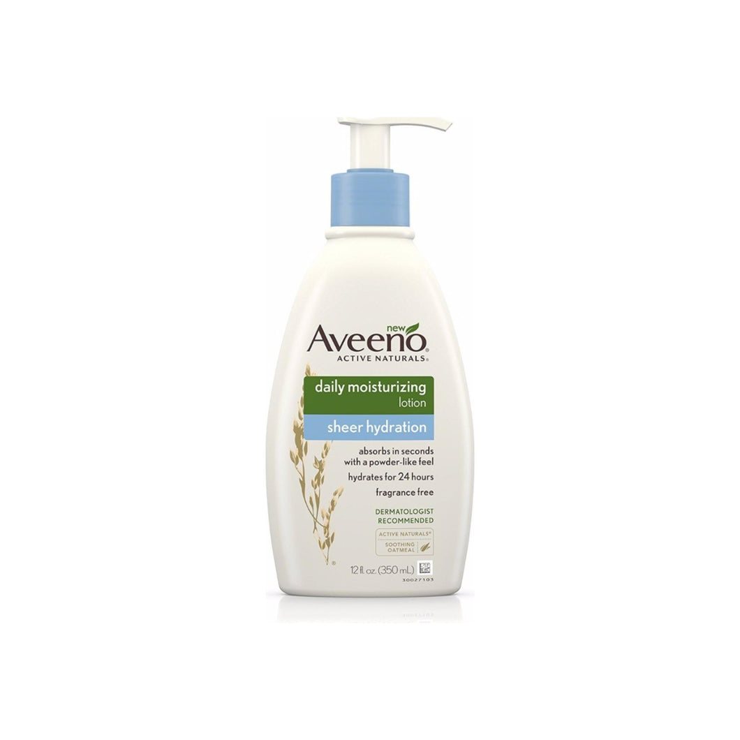 AVEENO Active Naturals Sheer Hydration Daily Moisturizing Lotion 12 oz