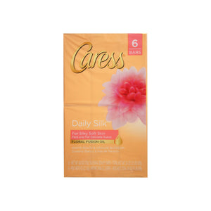 Caress Beauty Bar Daily Silk 4 oz, 6 Bar