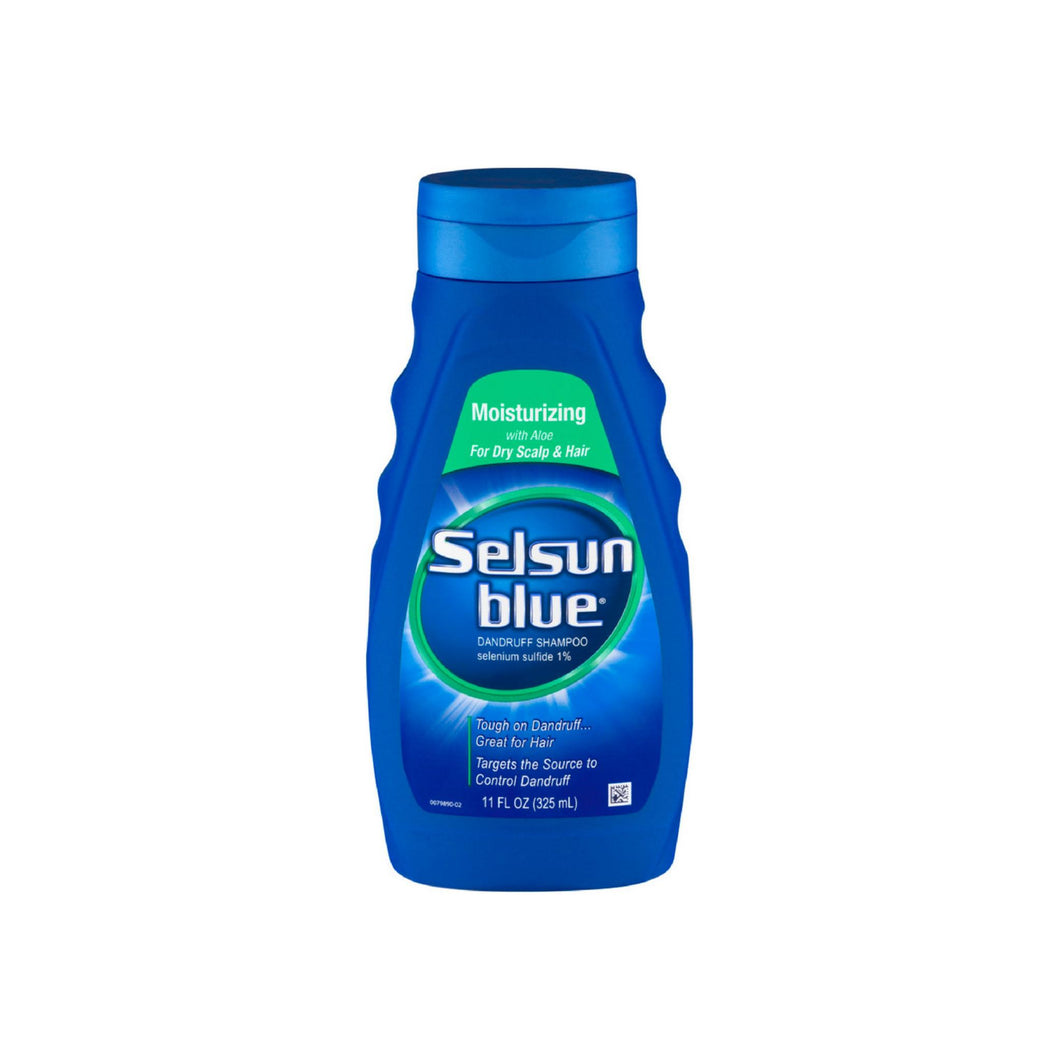Selsun Blue Moisturizing with Aloe Dandruff Shampoo 11 oz