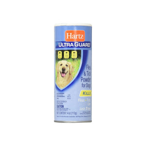 Hartz Ultra Guard Flea & Tick Powder For Dogs 4 oz