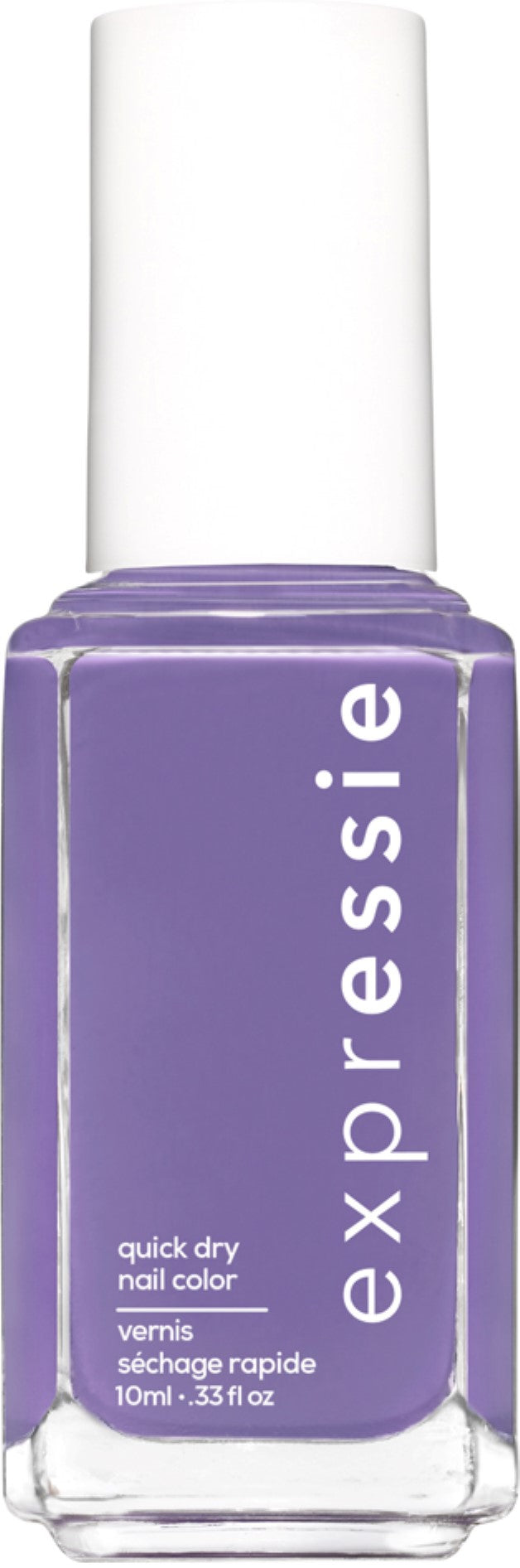 expressie quick-dry nail polish, grape purple nail polish, IRL, 0.33 oz