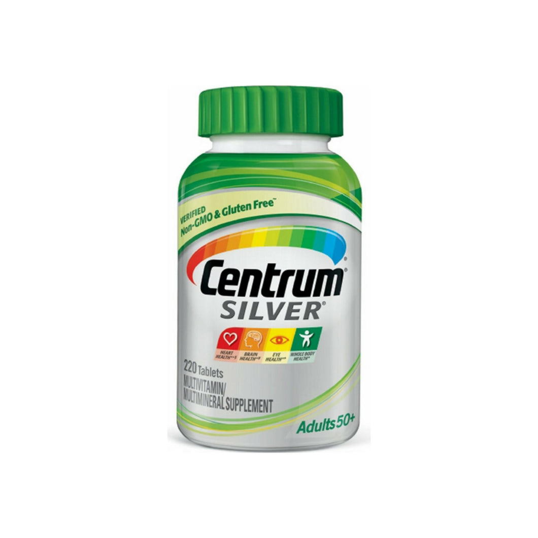 Centrum Silver Multivitamin, Tablets 220 ea
