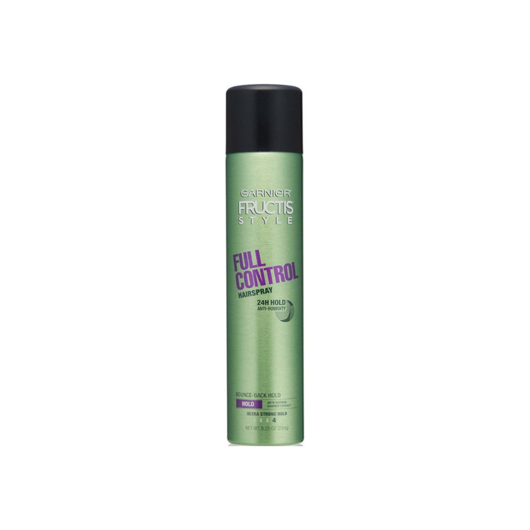 Garnier Fructis Style Full Control Anti-Humidity Hairspray, Ultra Strong Hold 8.25 oz