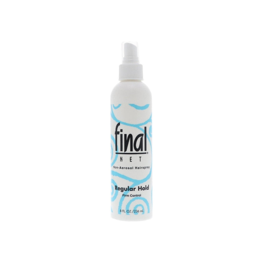 Final Net All Day Hold Hairspray, Regular Hold, Unscented 8 oz