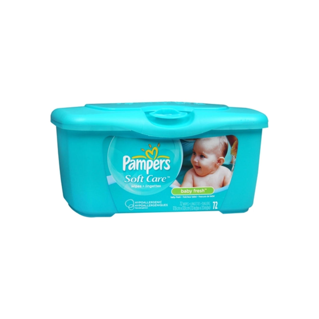 Pampers Baby Fresh Wipes Tub 72 ea