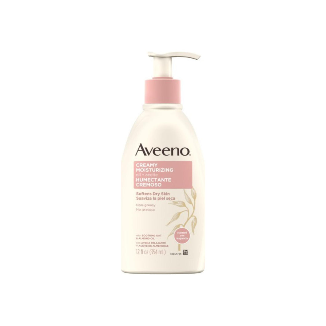 AVEENO Active Naturals Creamy Moisturizing Oil 12 oz