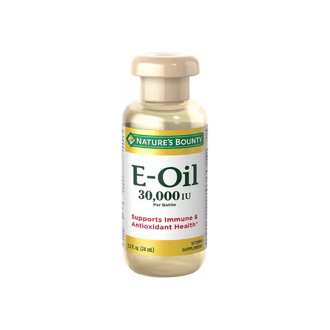 Nature's Bounty Vitamin E-Oil 30,000 IU 2.50 oz