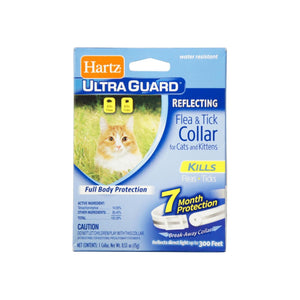 Hartz Ultra Guard Reflecting Flea & Tick Cat Collar 1 Each