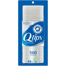 Load image into Gallery viewer, Q-tips Cotton Swabs 500 ea