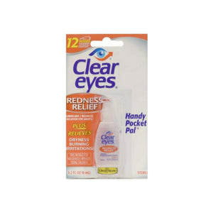 Clear Eyes Redness Relief Handy Pocket Pal 0.20 oz