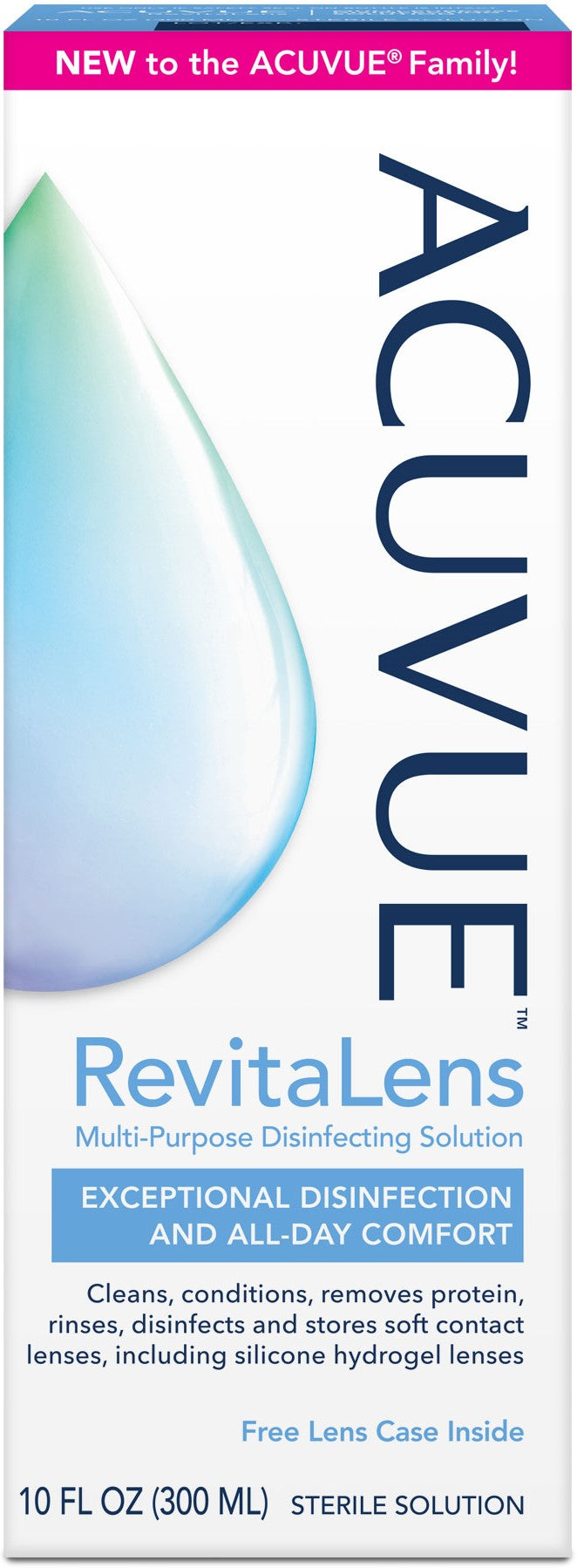 ACUVUE RevitaLens Multi-Purpose Disinfecting Solution 10 oz