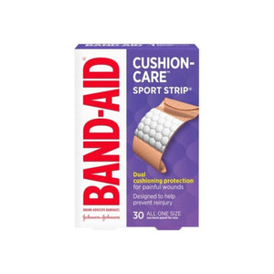 BAND-AID Bandages Sport Strip Extra Wide 30 Each [381370047230]