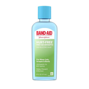BAND-AID Hurt-Free Antiseptic Wash 6 oz