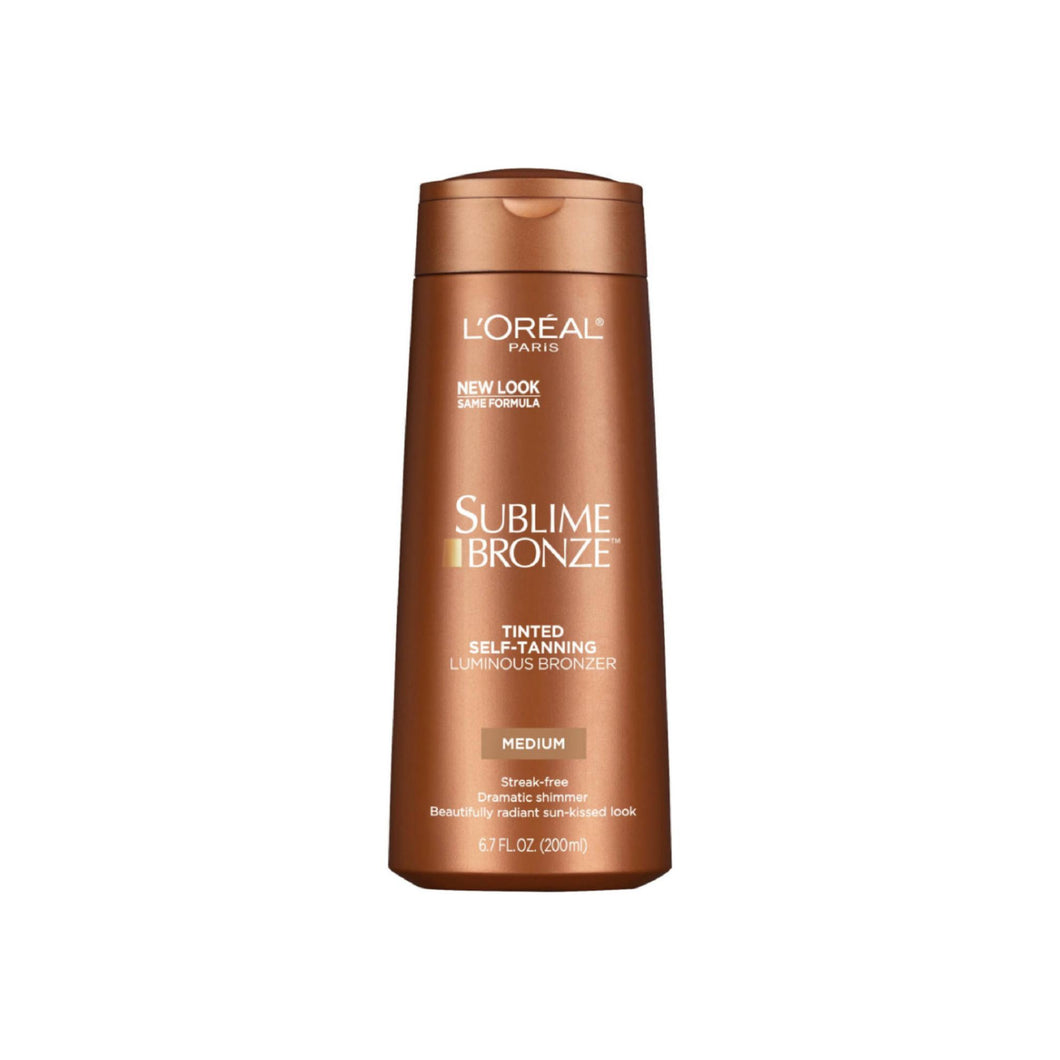 L'Oreal Sublime Bronze, Tinted Self-Tanning Luminous Bronzer, Medium 6.7 oz