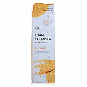 EKEL Foam Cleanser Rice Bran  6.09  oz