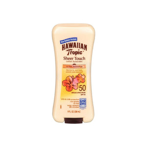 Hawaiian Tropic Sheer Touch Sunscreen SPF 50 Plus 8 oz