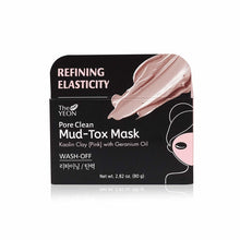 Load image into Gallery viewer, THE YEON Refining Elasticity Pore Clean Pink Mud Tox Mask 2.82 oz