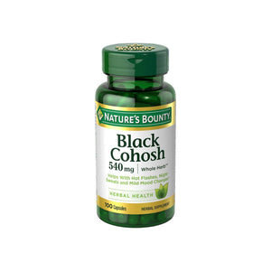 Nature's Bounty Black Cohosh 540 mg Capsules 100 ea