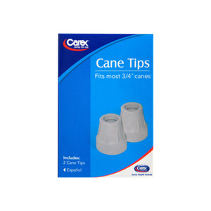 Carex Cane Tips 3/4 Inch A725-00 2 Each