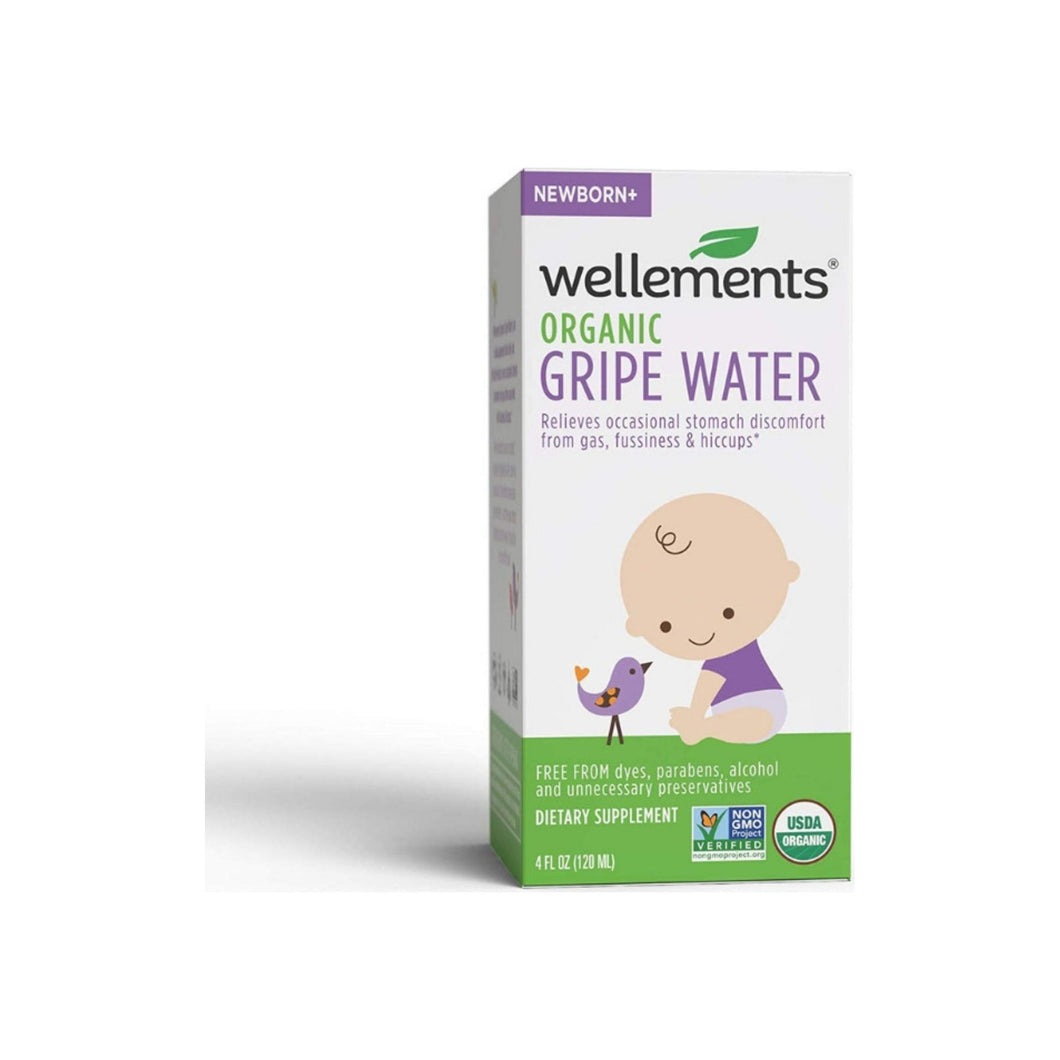 Wellements Gripe Water For Colic 4 oz