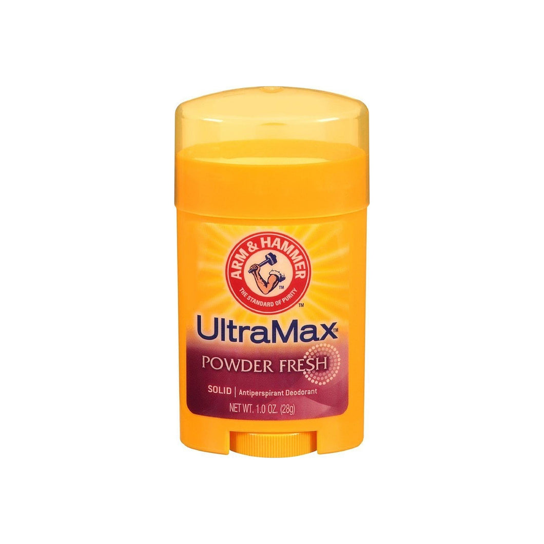 ARM & HAMMER Ultra Max Antiperspirant Deodorant, Powder Fresh 1 oz