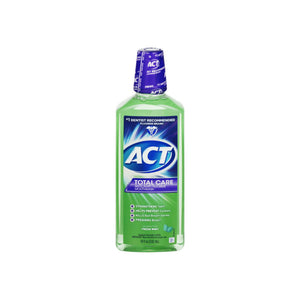 ACT Total CARE Anticavity Fluoride Rinse Fresh Mint 18 oz