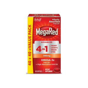 MegaRed Advanced 4-in-1 2x Concentrated Omega, 500mg, 70 ct [020525960993]