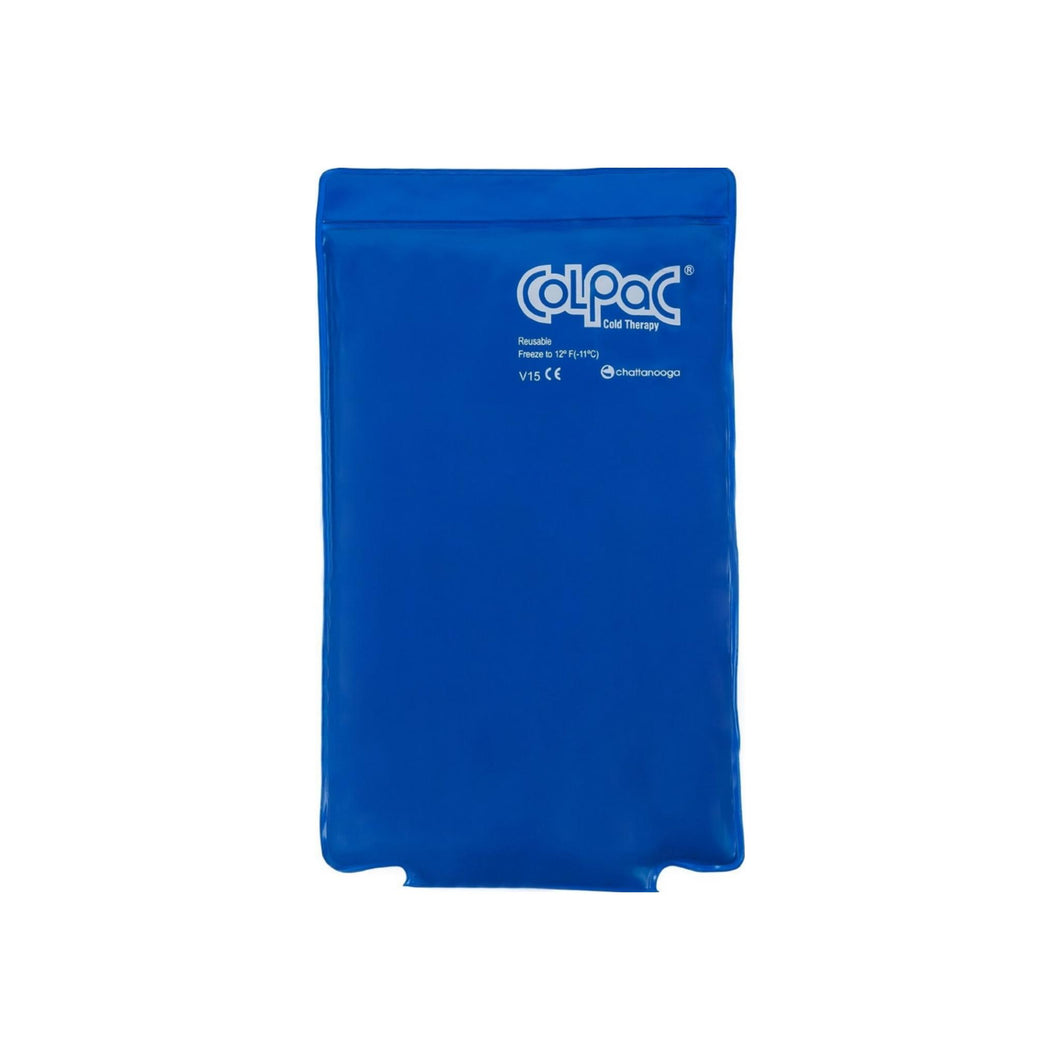 Chattanooga ColPac Blue Vinyl Cold Therapy, Medium/Half-Size Cold Pack 1 ea