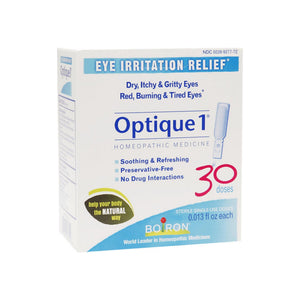 Boiron Optique 1 Eye Irritation Relief Single-Use Doses 30 ea